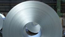 Picture detail of a steel coil